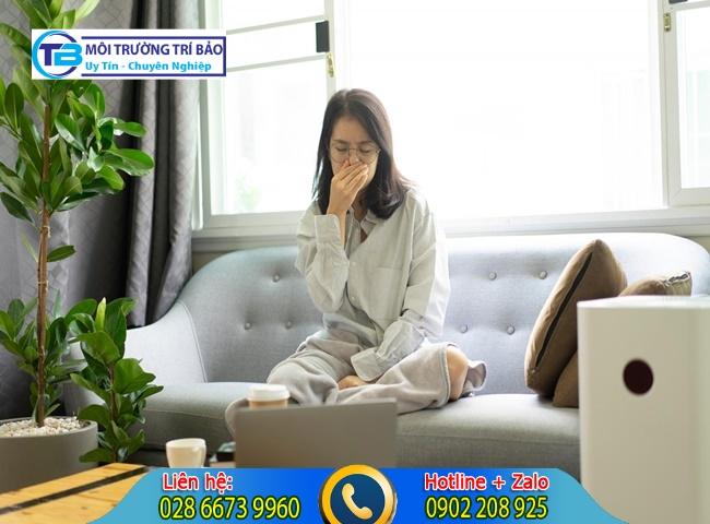 Khí độc trong nhà gây ảnh hưởng sức khỏe ra sao?